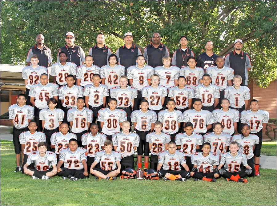 Youth Football team photo