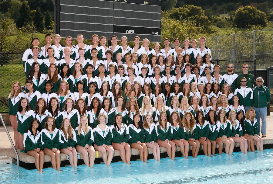 Swim team photo for Yary Photography
