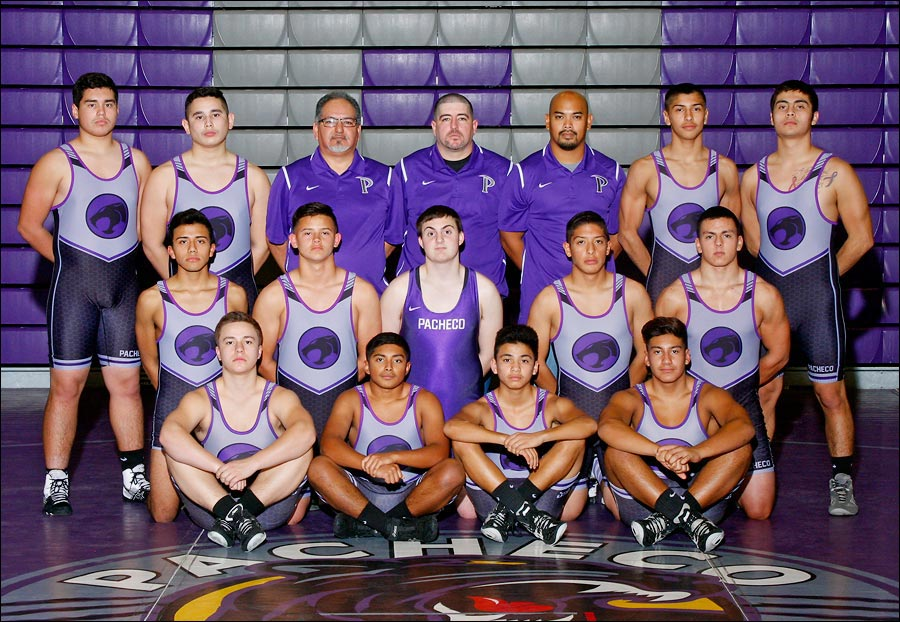 Wrestling team photo by Yary Sport Photography of Northern California